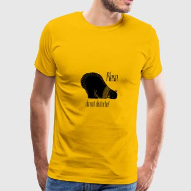 Bear sleeping - Men's Premium T-Shirt