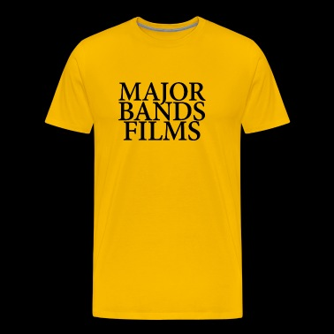 MAJOR BANDS FILMS - Men's Premium T-Shirt