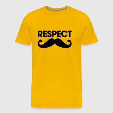 moustache - Men's Premium T-Shirt