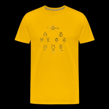 Alchemy scheme - Men's Premium T-Shirt