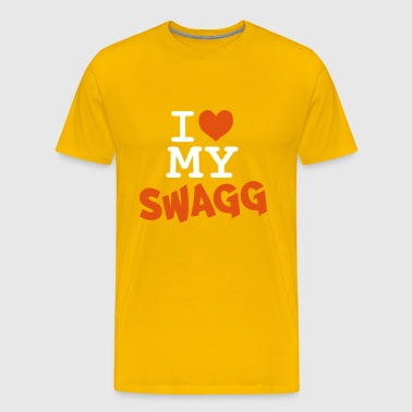 I love my swagg - Men's Premium T-Shirt