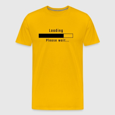 Loading - please wait - Men's Premium T-Shirt