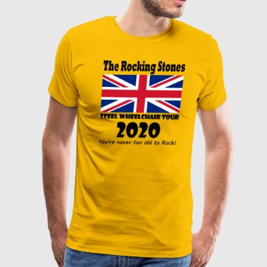 The Rocking Stones - Parody British Rock - Men's Premium T-Shirt
