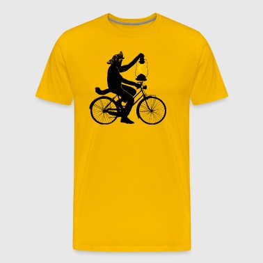 Ride With The Moon T Shirt - Men's Premium T-Shirt