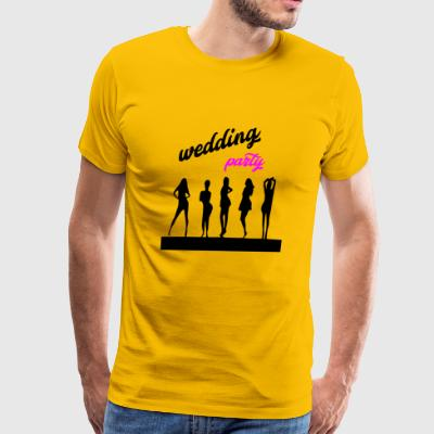 wedding party 7 - Men's Premium T-Shirt