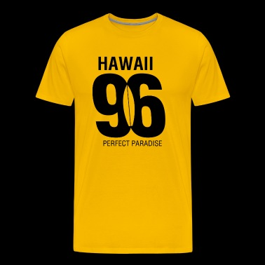 Hawaii 96 perfect paradise - Men's Premium T-Shirt