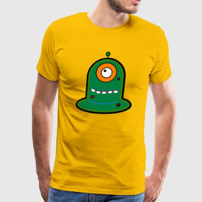 alien cyclops - Men's Premium T-Shirt