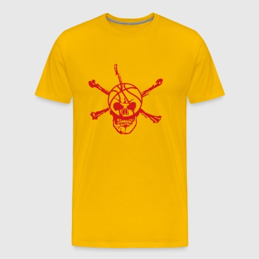basketball skull 12 deadhead knife - Men's Premium T-Shirt
