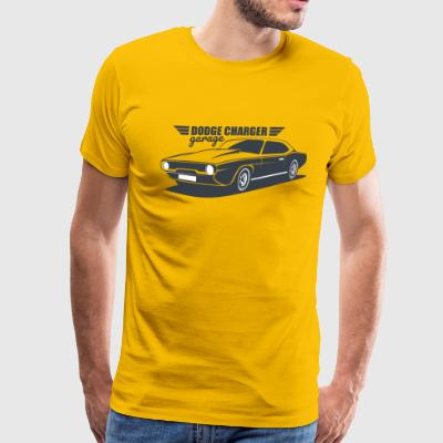 DODGE CHARGER CLASSIC CAR - Men's Premium T-Shirt