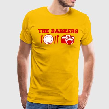 The Barkers - Men's Premium T-Shirt