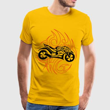 Tiger Bike - Men's Premium T-Shirt