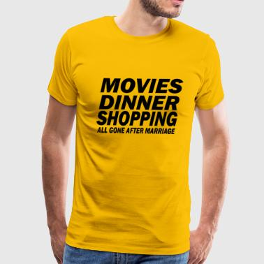 marriage cool shoping fashion - Men's Premium T-Shirt