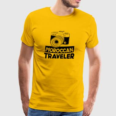 Moroccan Traveler - Men's Premium T-Shirt