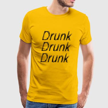 drunk 3 - Men's Premium T-Shirt
