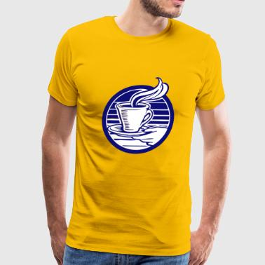 Coffee Time - Best Time of the Day #TeamCoffee - Men's Premium T-Shirt