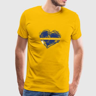 HOME ROOTS COUNTRY GIFT LOVE Nauru - Men's Premium T-Shirt