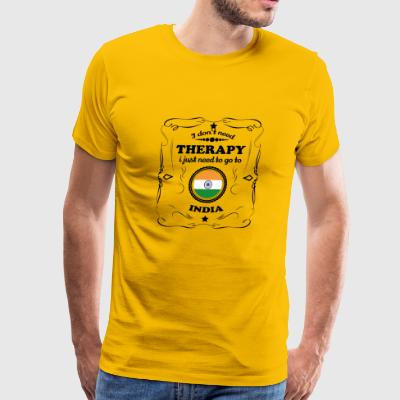 DON T NEED THERAPIE GO INDIA - Men's Premium T-Shirt