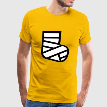 broken leg - Men's Premium T-Shirt