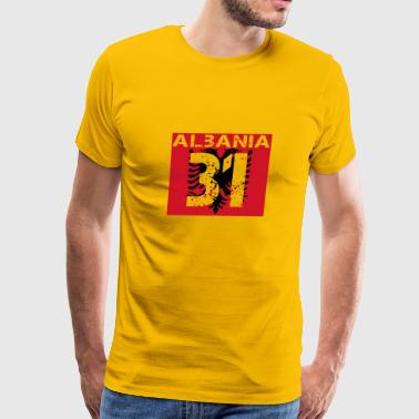 Albanien Fussball verein team party em wm 31 - Men's Premium T-Shirt
