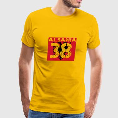 Albanien Fussball verein team party em wm 38 - Men's Premium T-Shirt