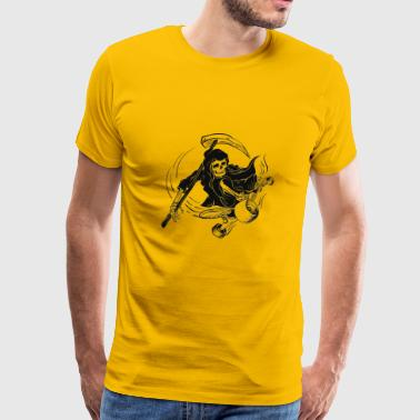 skeleton - Men's Premium T-Shirt