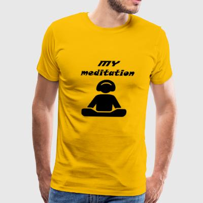 my meditation - Men's Premium T-Shirt