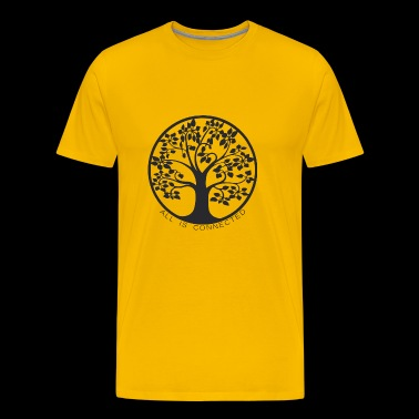 Tree of connections - Life Tree - Men's Premium T-Shirt