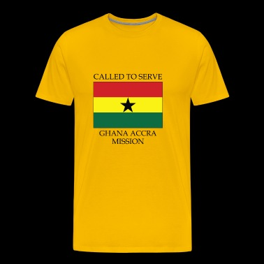 Ghana Accra LDS Mission Called to Serve Flag - Men's Premium T-Shirt