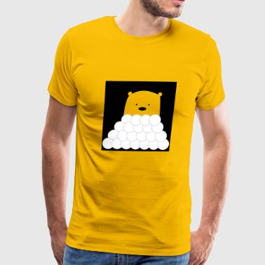 ice bear - Men's Premium T-Shirt