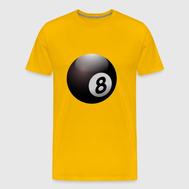 pool billards billiards snooker queue ball sport13 - Men's Premium T-Shirt