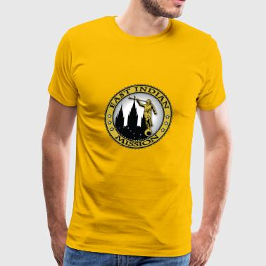 East Indian Mission - LDS Mission Classic Seal - Men's Premium T-Shirt