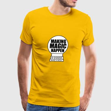 Making magic happen vectorized - Men's Premium T-Shirt