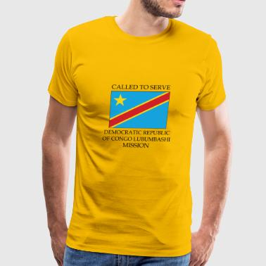 Democratic Republic of Congo Lubumbashi Mission - Men's Premium T-Shirt