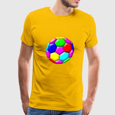 football fussball soccer spielen34 - Men's Premium T-Shirt