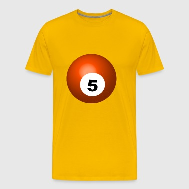 pool billards billiards snooker queue ball sport39 - Men's Premium T-Shirt