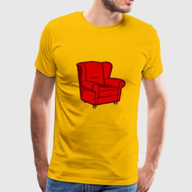 armchair - Men's Premium T-Shirt