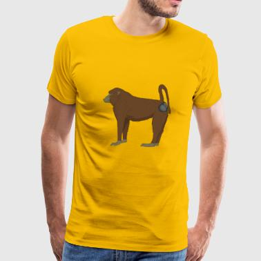 baboon - Men's Premium T-Shirt