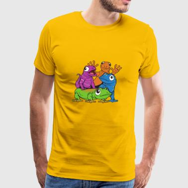 Lizards - Men's Premium T-Shirt
