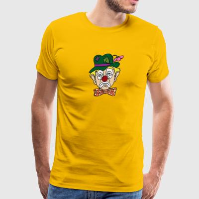 Sad Clown Face - Men's Premium T-Shirt