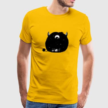 Sleepy Monster - Men's Premium T-Shirt
