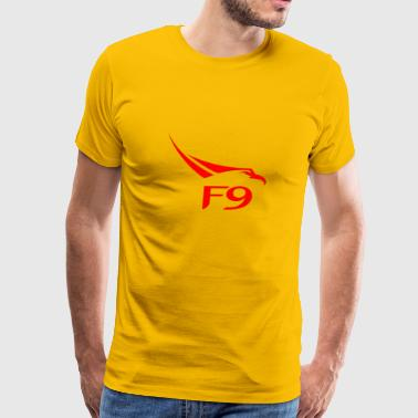 FALCON HEAVY RED - Men's Premium T-Shirt
