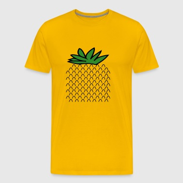 pineapple costume for halloween fruit costume - Men's Premium T-Shirt