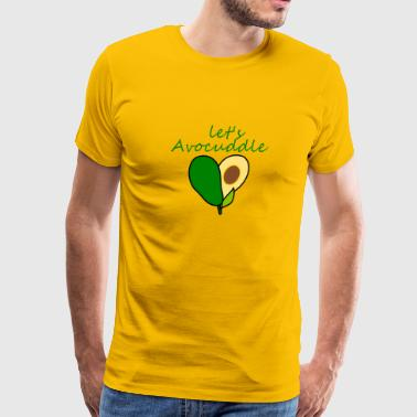 Let's Avocuddle - Men's Premium T-Shirt