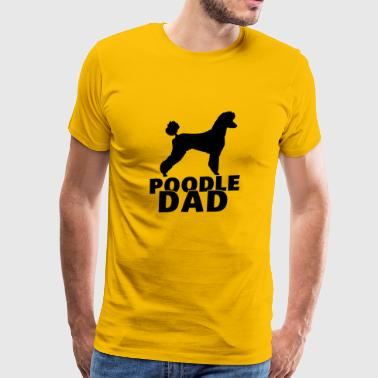Poodle dad - Men's Premium T-Shirt
