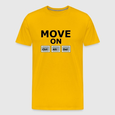 MOVE ON - Men's Premium T-Shirt