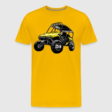 Suzuki Off-Road UTV Side By Side - Men's Premium T-Shirt