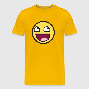 Awesome Face - Men's Premium T-Shirt