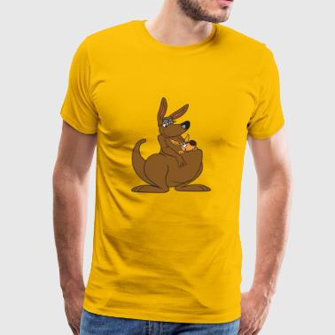Kangaroo Australia Down Under - Men's Premium T-Shirt