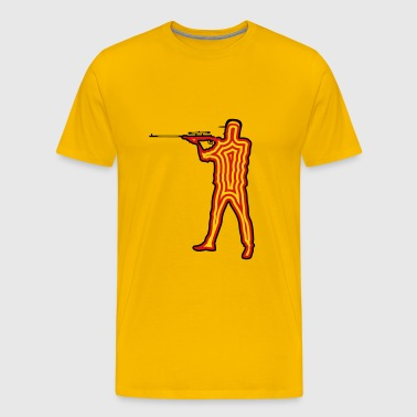 Shooting gun shooting - Men's Premium T-Shirt