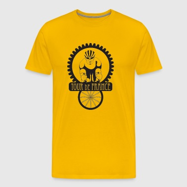 Tour de France - Men's Premium T-Shirt